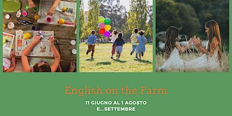 """Presentazione """"Back to School with English on the farm"""" biglietti"""