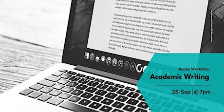 Academic writing (19:00 - 20:00) tickets