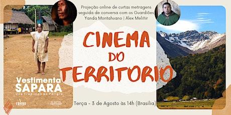 Cinema do território: projeção de curtas e conversa com os Guardiões bilhetes