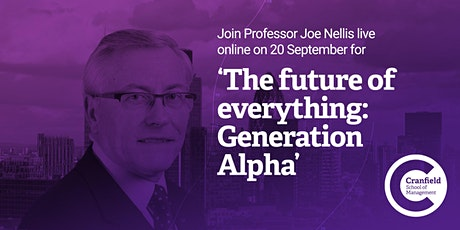 The future of everything: Generation Alpha tickets