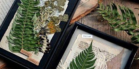 Foliage Shadow Box Workshop tickets