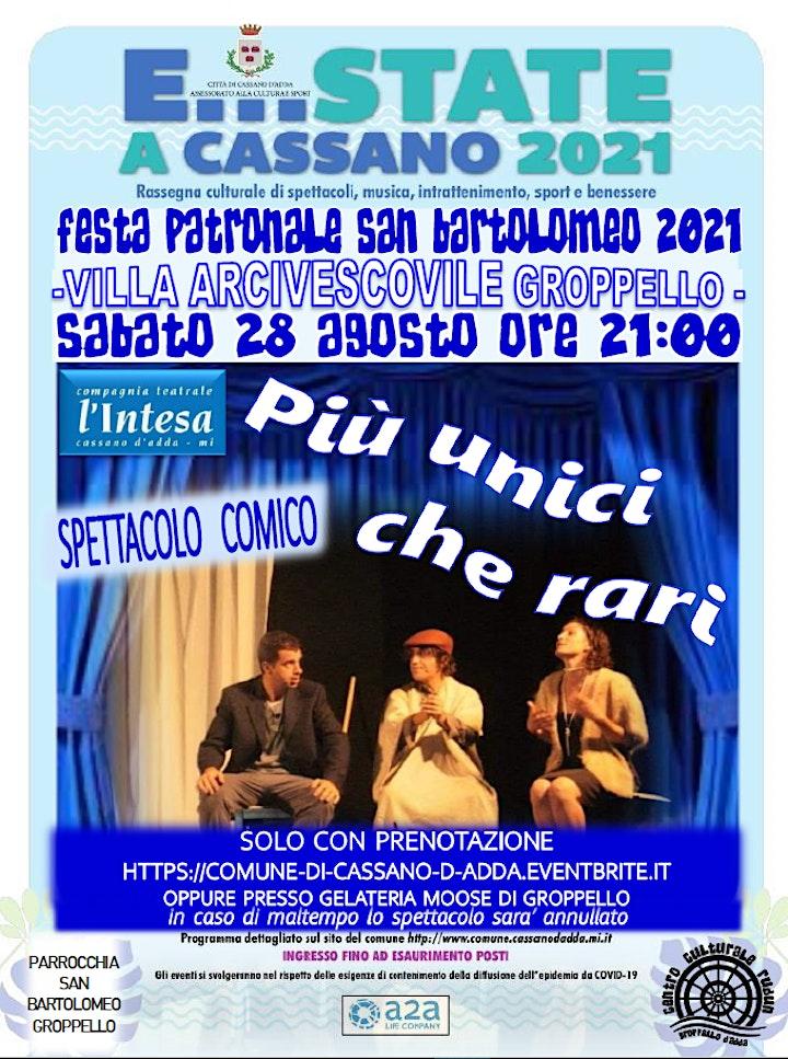 Immagine E...state a Cassano - Piu' unici che Rari - FESTA SAN BARTOMEO GROPPELLO