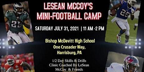 LeSean McCoy's Mini Football Camp | 07.31.2021 tickets