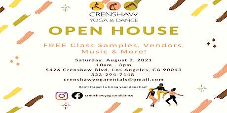Crenshaw Yoga & Dance - Open House tickets