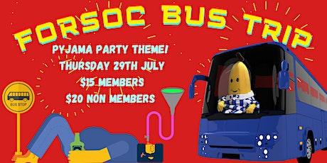 FORSOC Bus Trip tickets