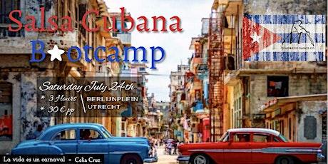Salsa Cubana bootcamp outdoors in UTRECHT tickets