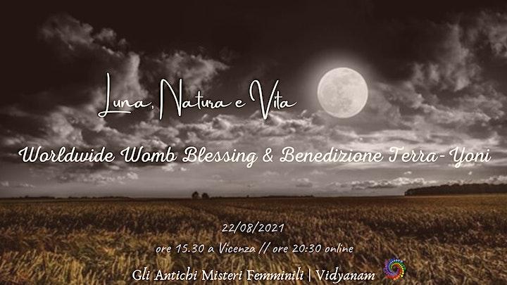 Immagine Luna, Natura e Vita - Worldwide Womb Blessing e Benedizione Terra-Yoni
