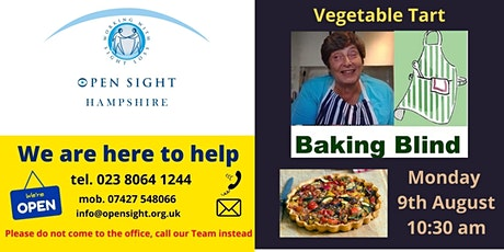 Baking session with Penny for Visually Impaired & Blind people tickets