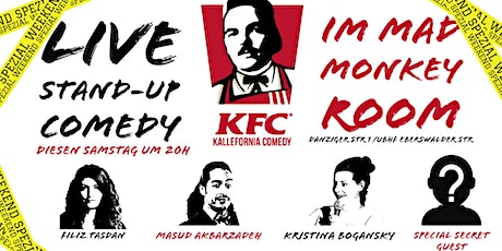"""Stand-up Comedy • P-Berg • 20 Uhr • """"Kallefornia Comedy Weekend Spezial!"""" Tickets"""