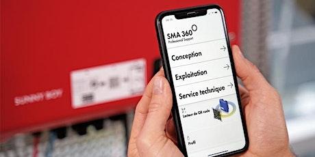 WEBINAIRE/ Appli SMA 360°: vos tournées… c'est dans la poche ! billets