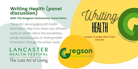 Writing Health (panel discussion) - Lancaster Health Festival tickets