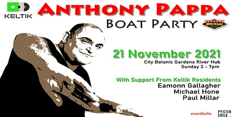 "KeltiK Presents ""Anthony Pappa"" Boat Party tickets"