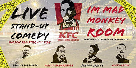 """Stand-up Comedy • P-Berg • 23 Uhr • """"Kallefornia Comedy Weekend Spezial!"""" Tickets"""