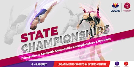 Session 4: 2021 Gymnastics QLD Trampoline & Acrobatic State Championships tickets