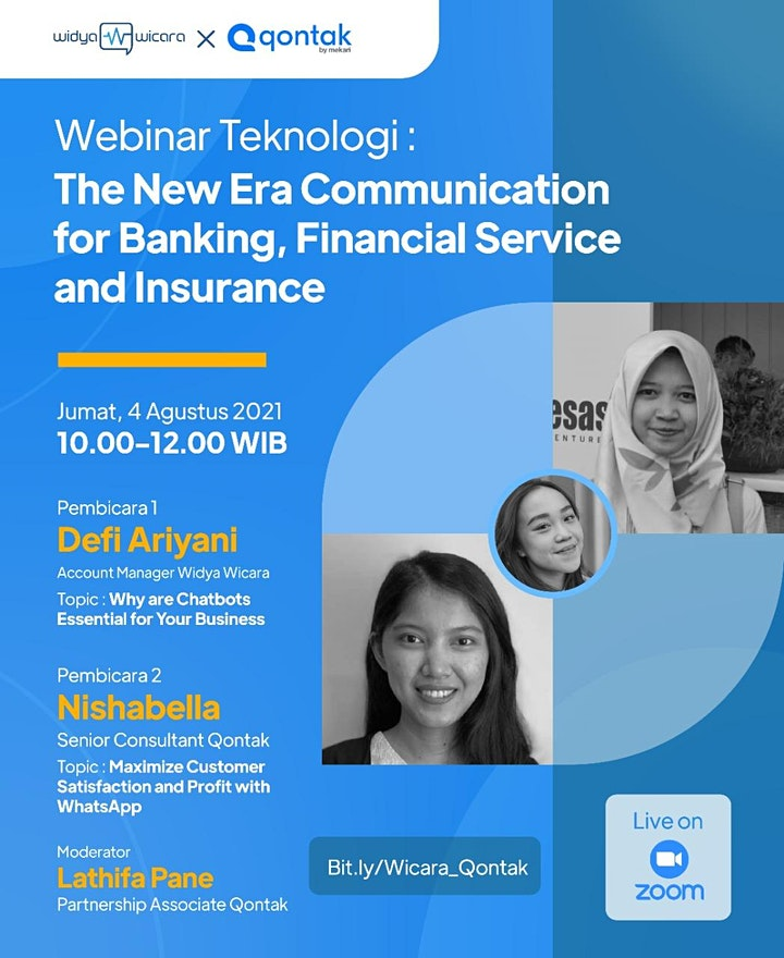 The New Era Communication for Banking, Financial Service, and Insurance image