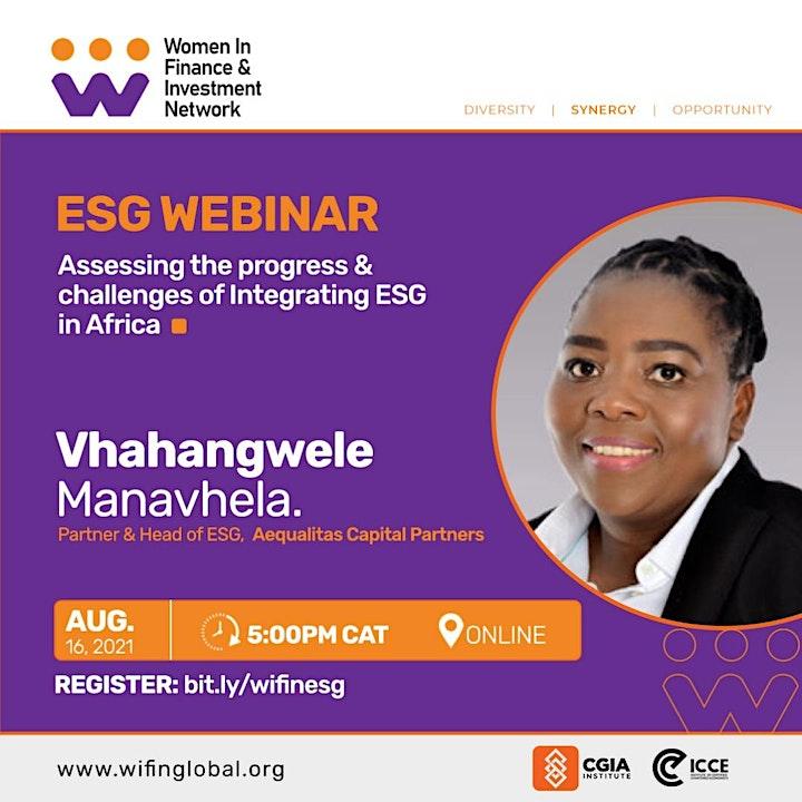 ESG Webinar image