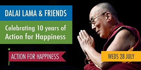The Dalai Lama and friends: celebrating 10 years of Action for Happiness tickets