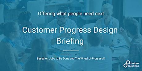 Customer Progress Design Briefing (English) Tickets
