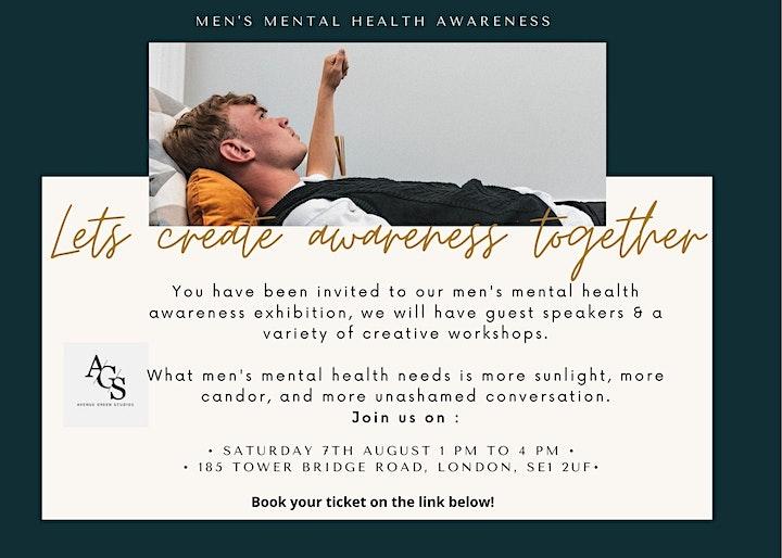 Men's Mental Health Awareness image