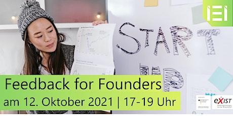 Feedback for Founders III Tickets
