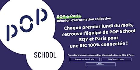 Réunion Information Collective/ Fabrique numérique POP School SQY et Paris tickets