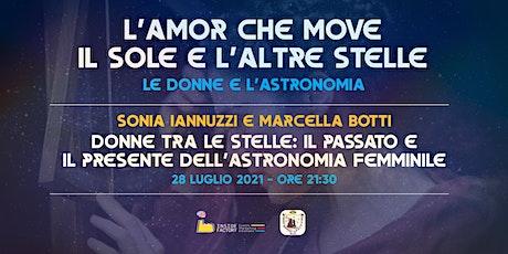 Donne tra le stelle: il passato e il presente dell'astronomia al femminile biglietti
