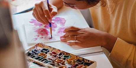 FREE PAINT 'N' MEDITATE WORKSHOP - 'CONNECTING NOOSA'  - 19/8/21 tickets