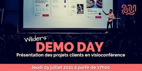 Demo Day Wild Code School Bordeaux  - Présentation des projets clients billets