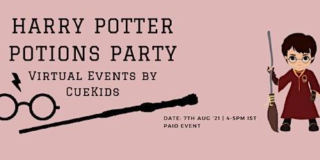 HARRY POTTER POTIONS PARTY boletos