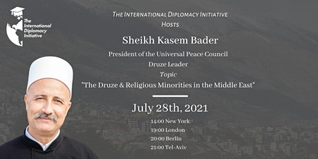 The Druze & Religious Minorities in the Middle East tickets