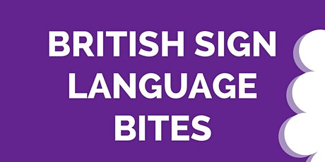 Online British Sign Language Taster Session! tickets