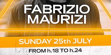 FABRIZIO MAURIZI 25.07 at Settepuntonove biglietti