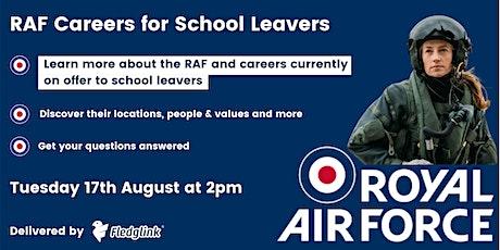 RAF Careers for School Leavers tickets