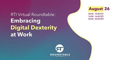 Future of Business: Embracing Digital Dexterity at Work tickets