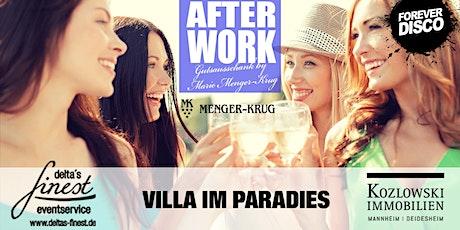 AFTER WORK GUTSAUSSCHANK / Wine meets Music @ Menger Krug Tickets