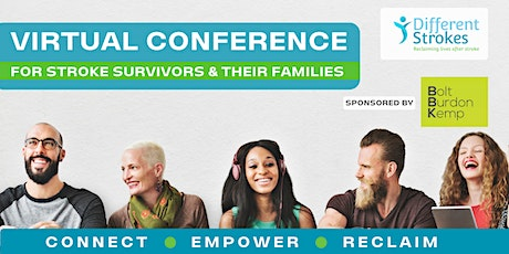 RECLAIM - Different Strokes Virtual Conference 2021 tickets