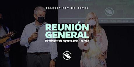 Reunión general - 01/08/21 - 10:00h entradas