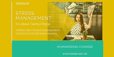 Stress Management: How to manage stress like an Ace in any situation. (Aug boletos