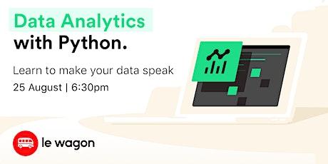 ⭐Data Analytics for beginners ⭐ tickets