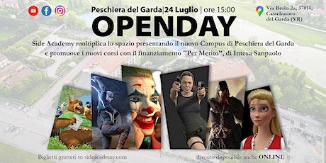 OpenDay Side Academy - Nuovo Campus  Peschiera del Garda 24 Luglio 2021 biglietti