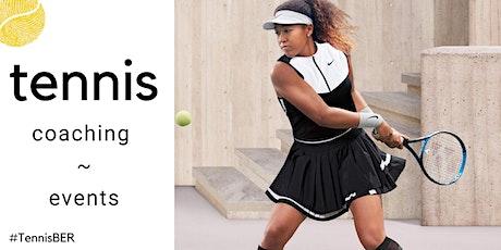 Tennis Coaching : Thursday Evening : Outdoor tickets