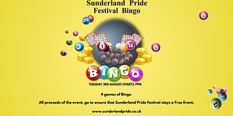 Sunderland Pride Festival Bingo tickets