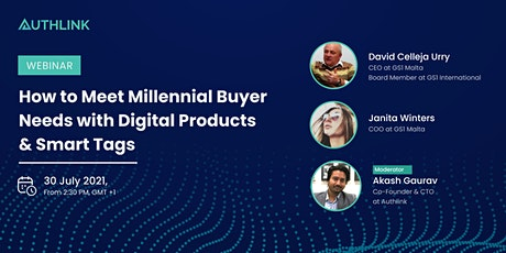 Meeting Millennial Buyer Needs with Digital Products & Smart Tags tickets
