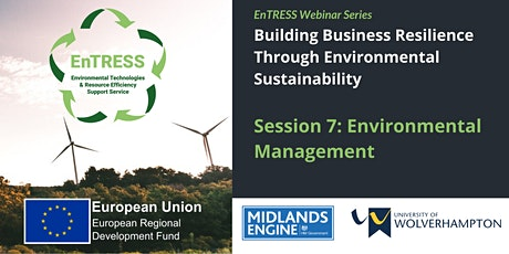 Building Business Resilience: Environmental Management tickets