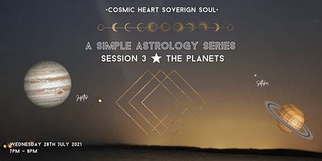 A Simple Astrology Series: Session 3 tickets