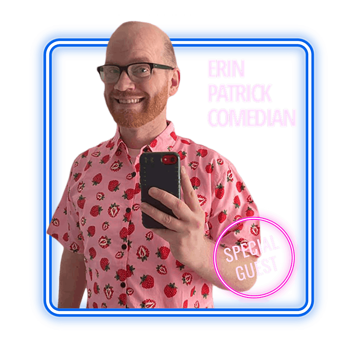 Happy Hour with Alan Chamo  | featuring Comedian Erin Patrick image