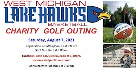West Michigan Lake Hawks Annual Charity Golf Outing tickets