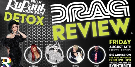 Drag Review featuring RuPaul's Detox tickets