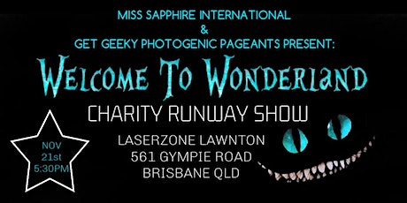 Welcome to Wonderland Charity Runway Show tickets