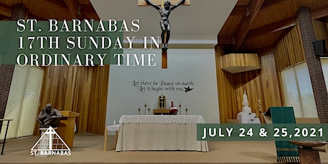17th Sunday in Ordinary Time Sunday Mass (Last Names Q-Z) tickets